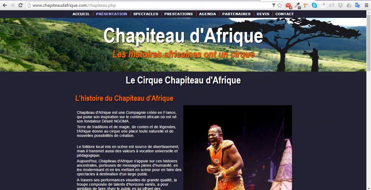 www.chapiteaudafrique.com