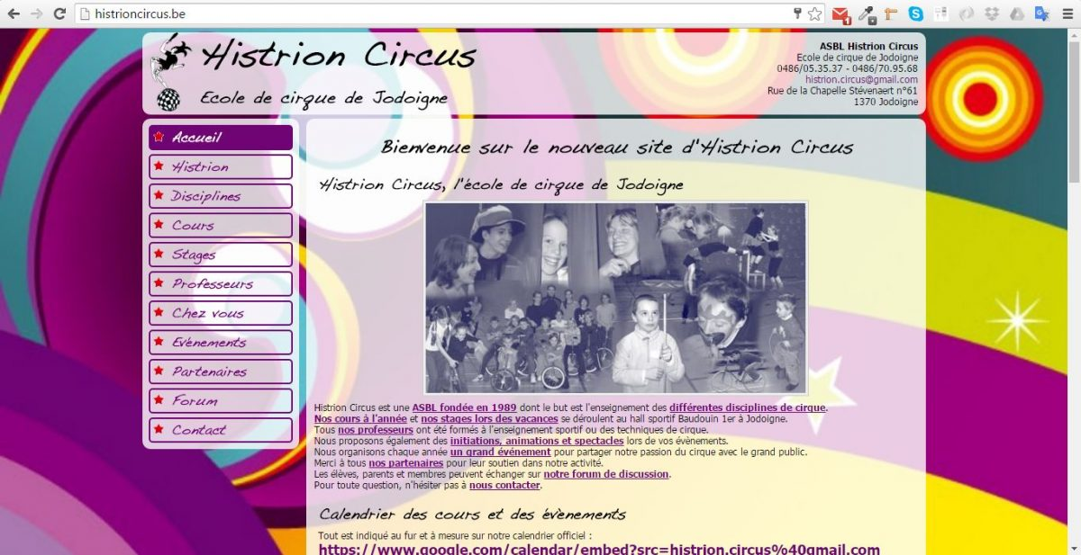 www.histrioncircus.be